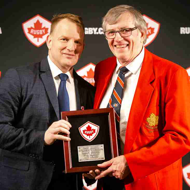 Congrats to our Honorary Life Member Barry Giffen of the Strathcona Druids RFC!!