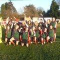 Junior Girls beat Worcester U18 5 - 48