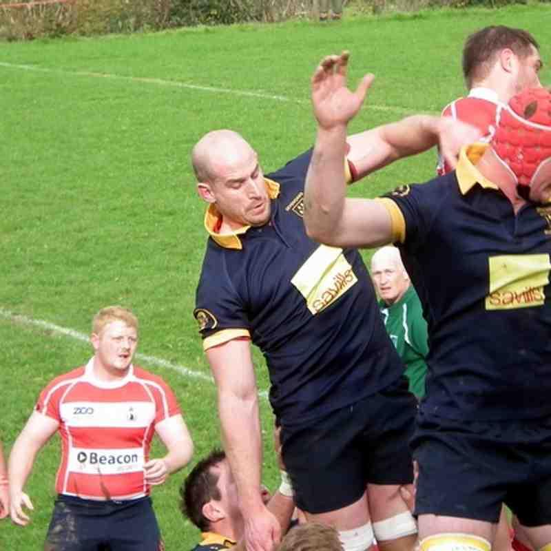 Sevenoaks 1st v Crowborough 1st  10/10/15