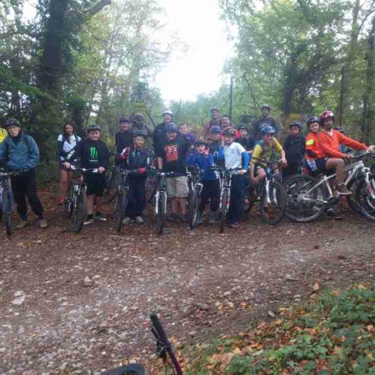 Muddy Mountain Biking for the u12s!