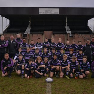 Clifton Under 13s win Bristol Combination Plate Final
