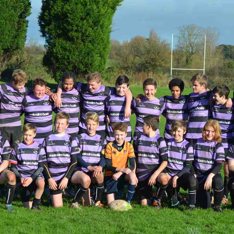 Clifton u14 vs Hucclecote 22/11/15