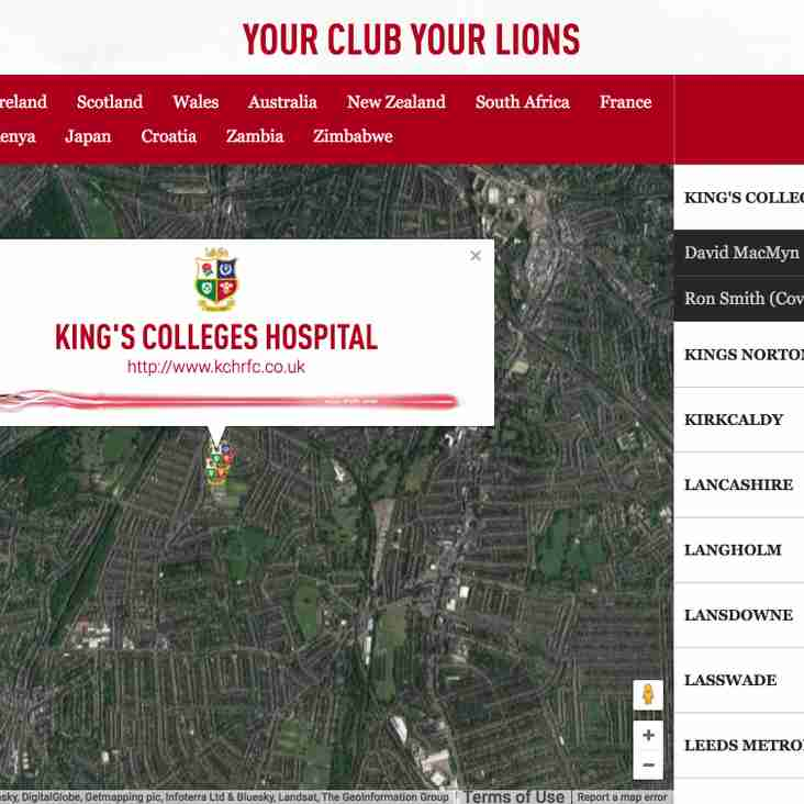 Your club your Lions