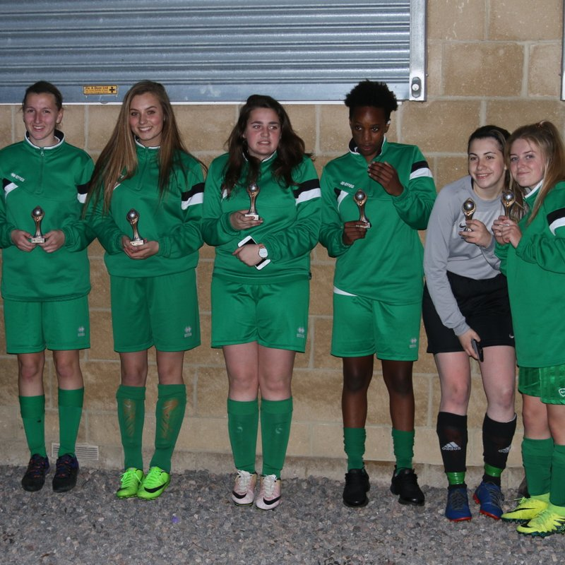 WYFC Amazons - Chippenham Tournament Winners