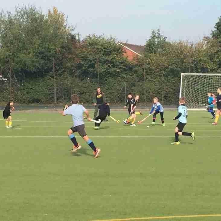 Under 10's Thames Valley Tournament Success