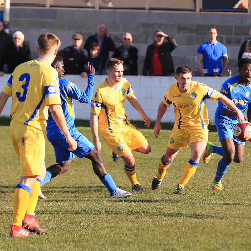 RBFC vs Lancaster 25th March 17