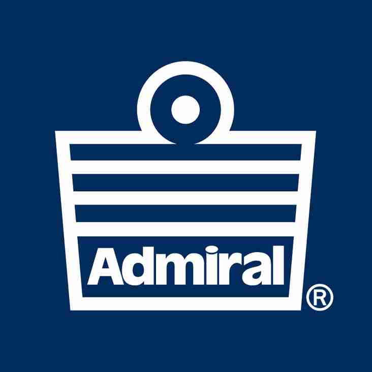 Club signs exclusive deal with Admiral