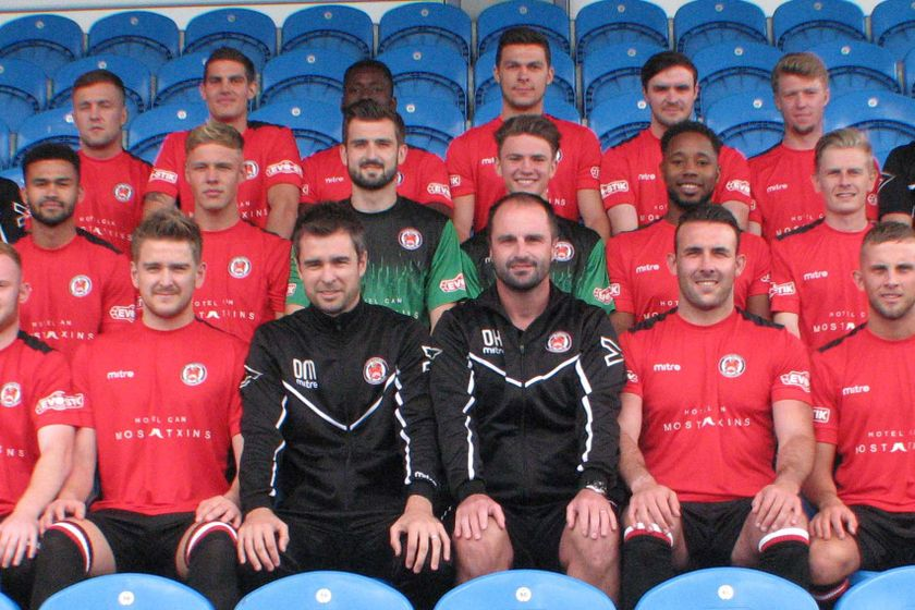 Hyde United 0 - 0 Trafford