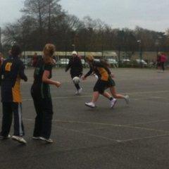 Cambourne Team 1 vs Storm (12th Jan 2013)