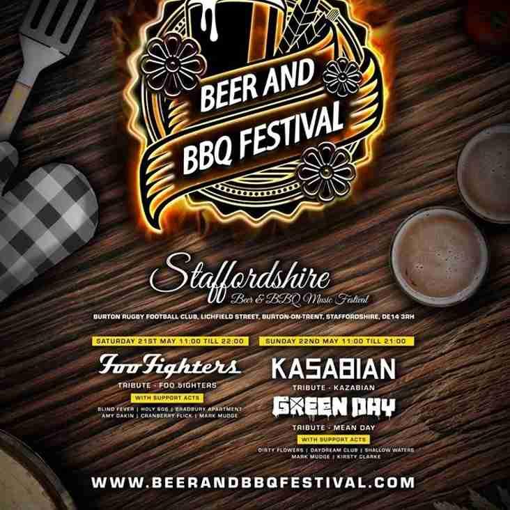 Staffordshire Beer & BBQ Music Festival