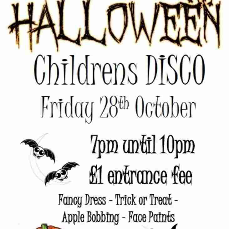 Halloween Disco this Friday!