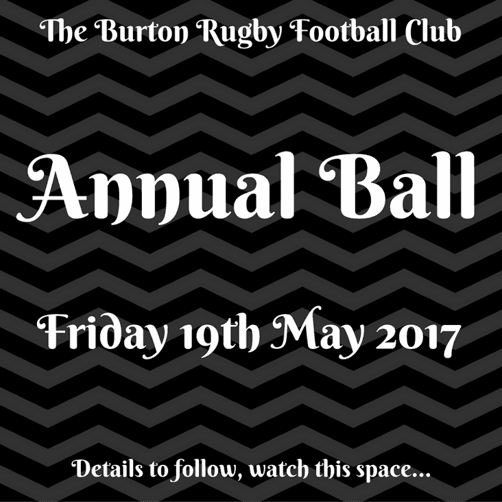 Annual Ball - Time to Pay!!!