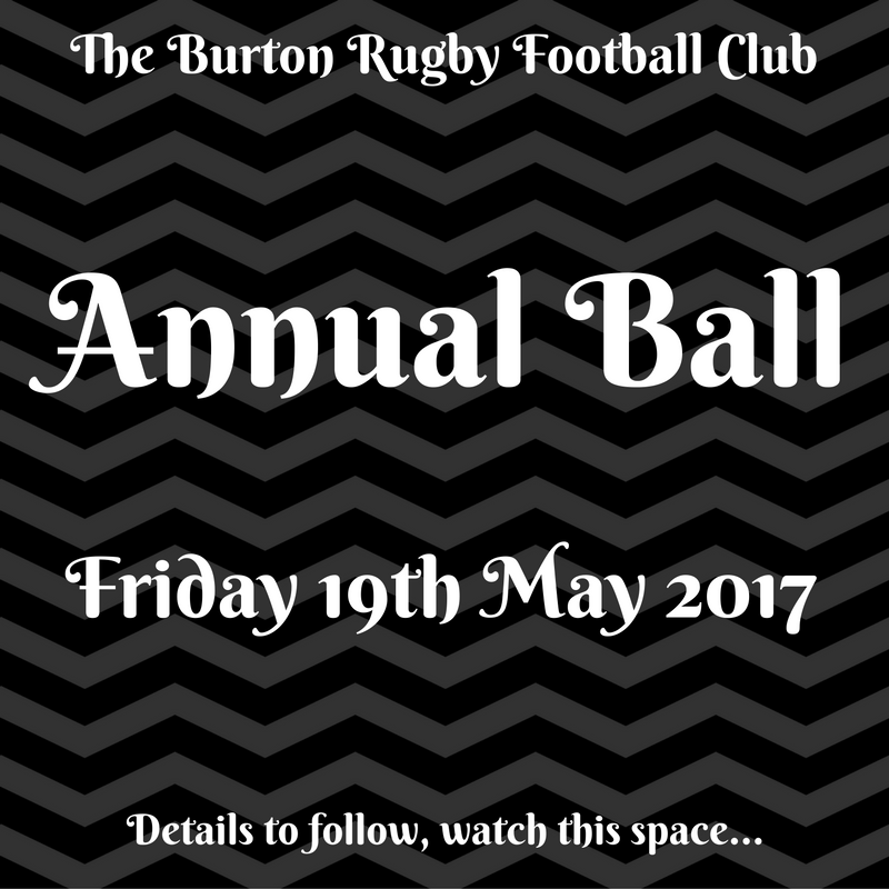 Annual Ball - Menu details