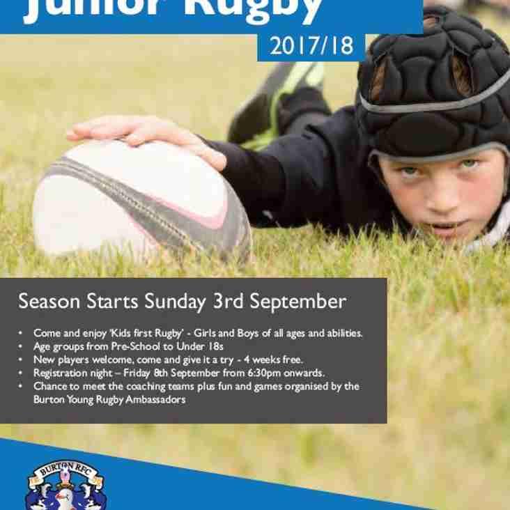 Mini Junior Rugby