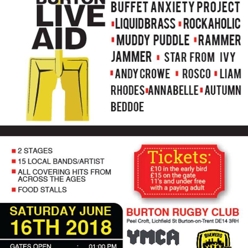Burton Live Aid 2018