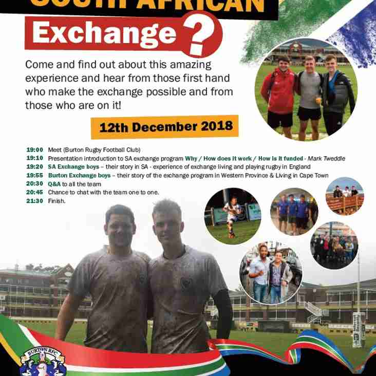 South African Exchange