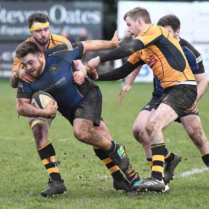 MATCH REPORT: Hertford 15 - 15 Tring