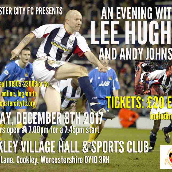 An Evening with Lee Hughes...and now...Andy Johnson