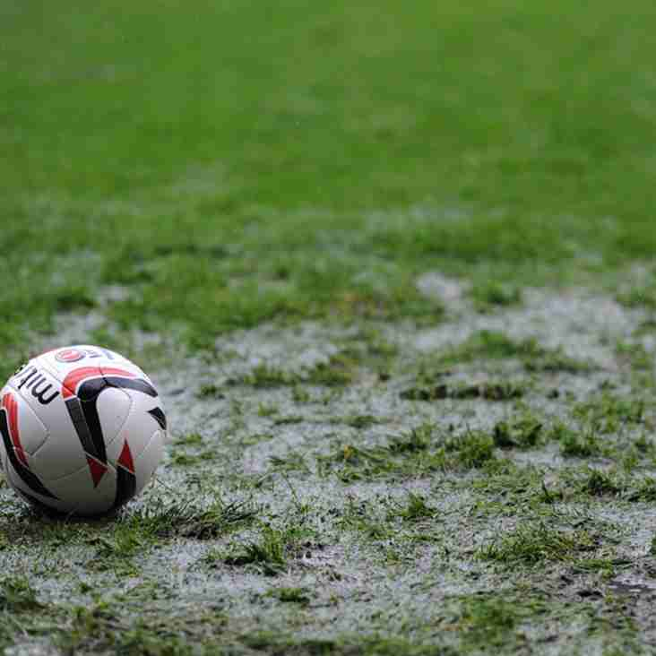 League Cup Match at Studley - MATCH POSTPONED