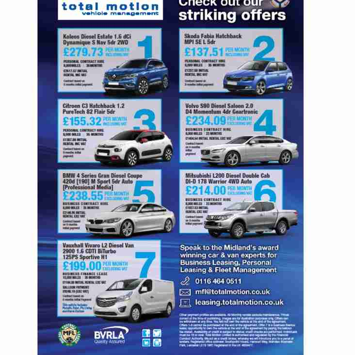 Total Motion - February Offers