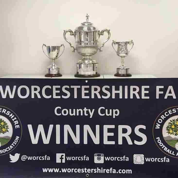 Worcestershire Senior Urn - City face Pershore