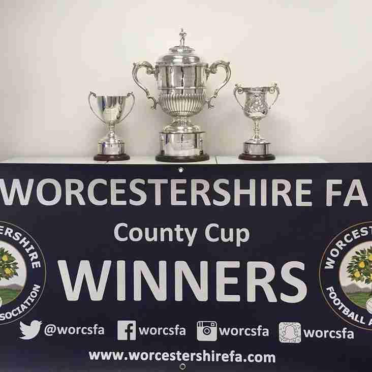 Worcestershire Senior Urn - City face Pershore