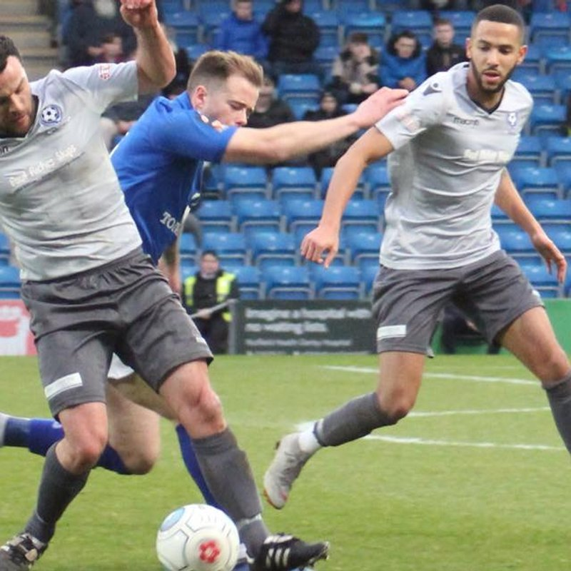 FA Trophy Journey Now Relived On Bedford Town TV.