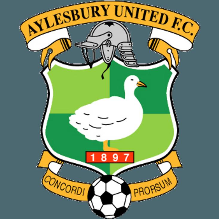 Aylesbury United fixture - Update<