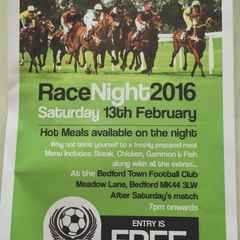 Race Night at the Eyrie - Saturday 13th Feb - FREE ENTRY