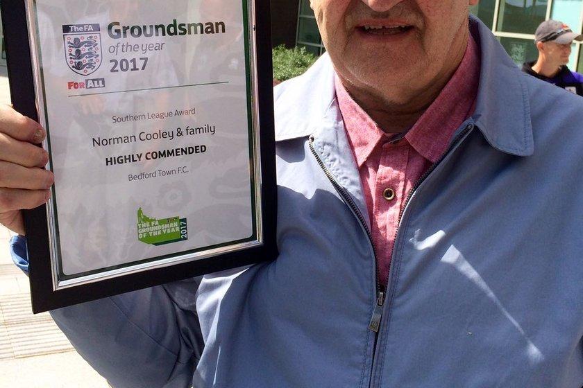 Congratulations to Norman & Alan Cooley