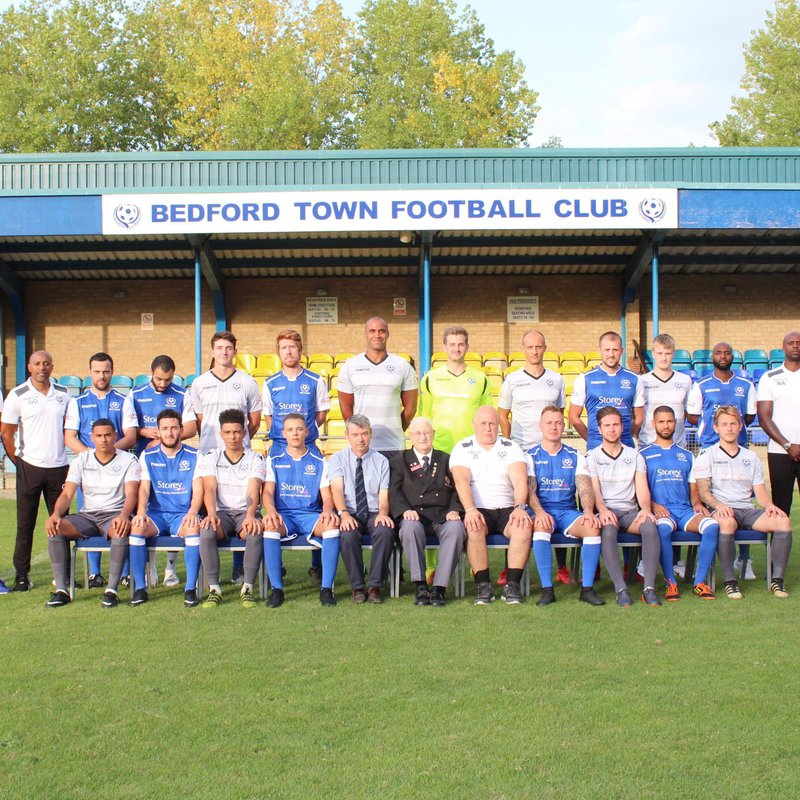 Bedford Town FC beat AFC Dunstable 4 - 1