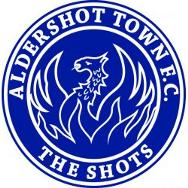 Aldershot Town away - Information