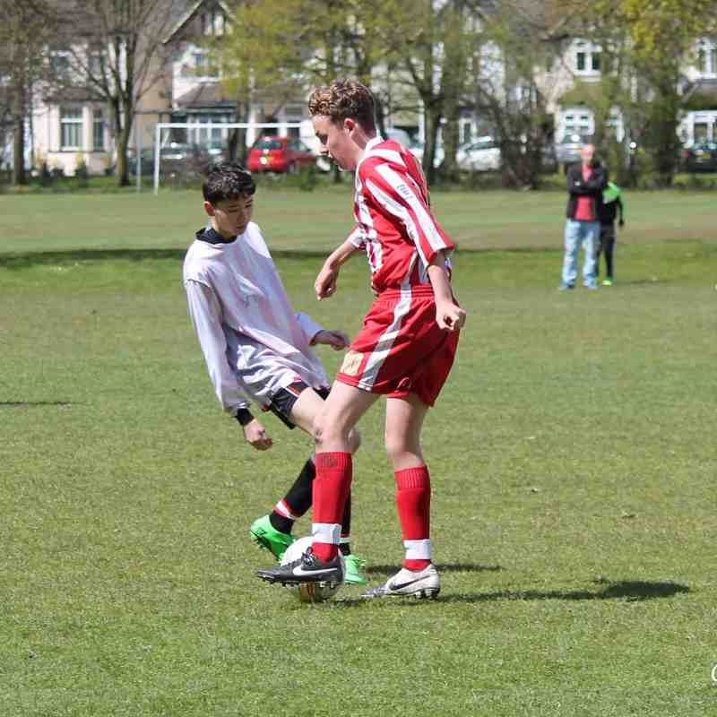 CTYFC U15 Raiders v Sandhurst 30th April 2016