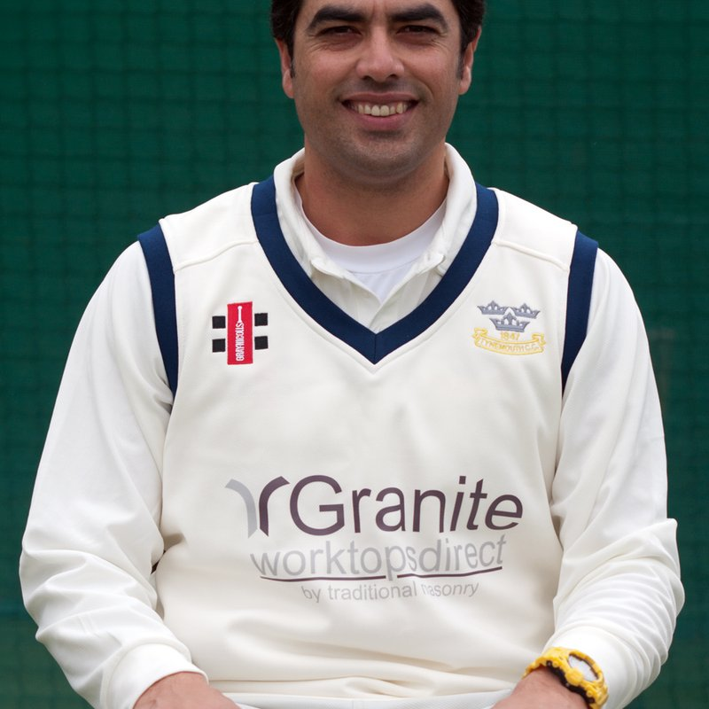 Tahir Khan records thanks to all at Tynemouth CC