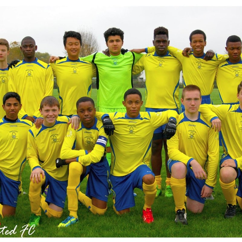 U17 beat LNER Youth FC