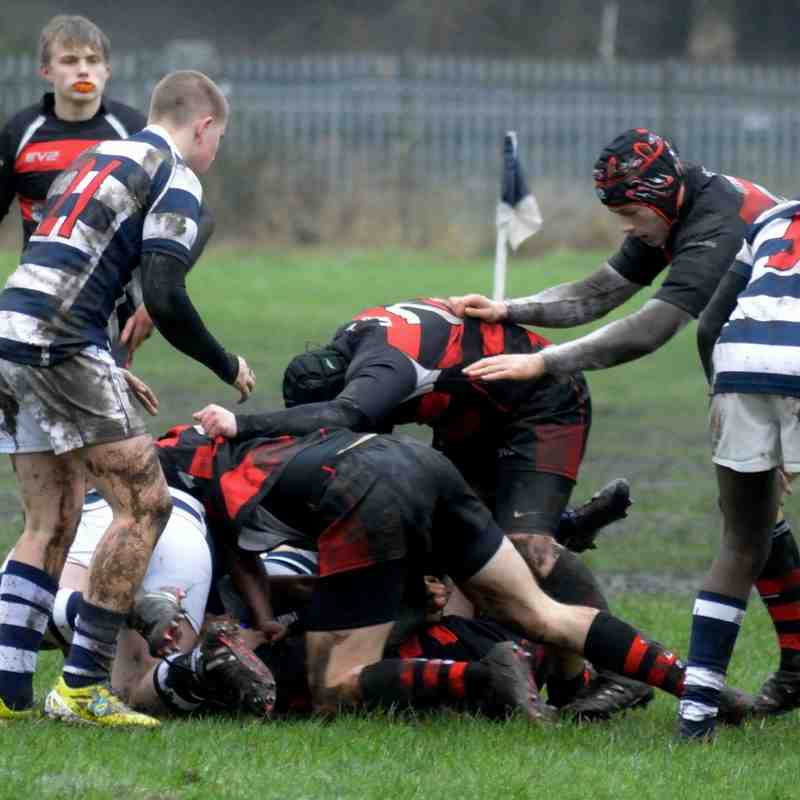Eccles Vs Widnes colts 31 01 16