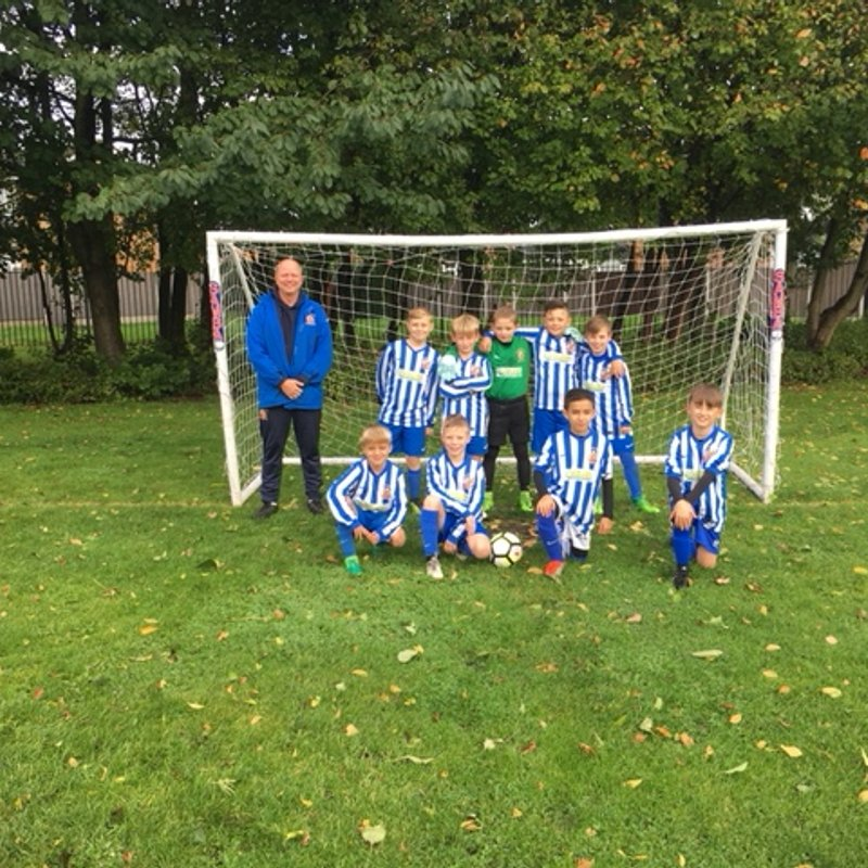 U10 Leopards beat West Didsbury 1 - 3