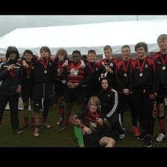 Under 15s win at Lytchett 7s Festival