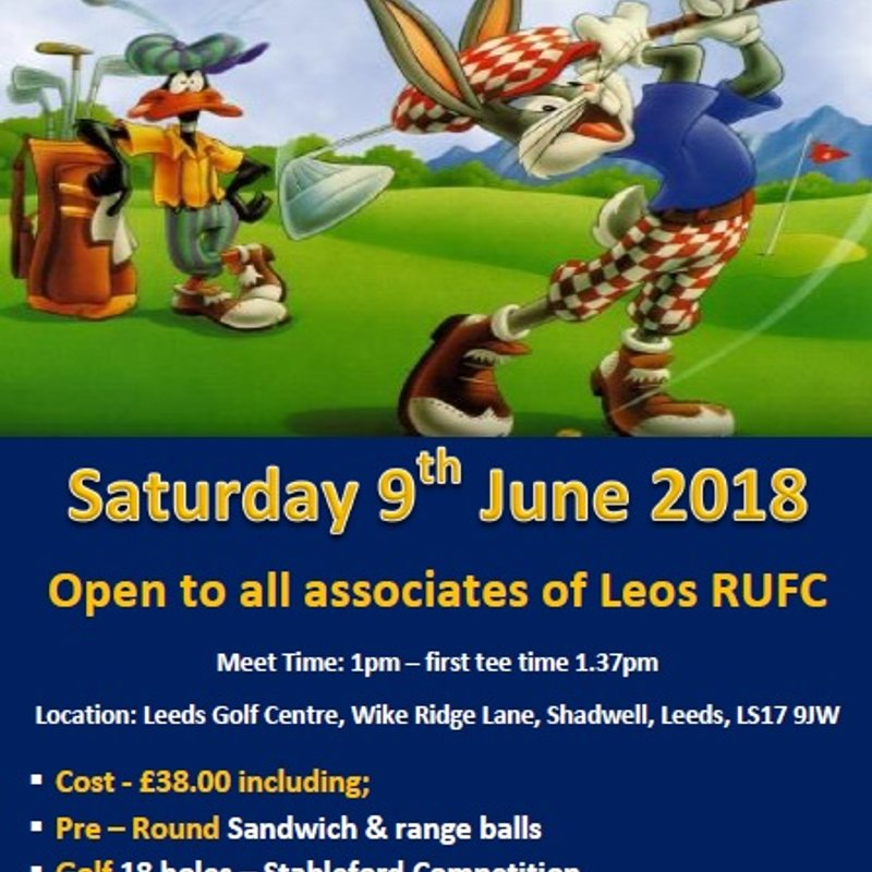Leos Golf Day 2018