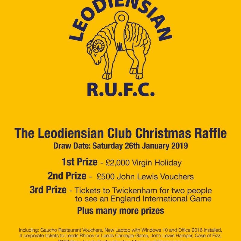 The Leodiensian Club Christmas Raffle