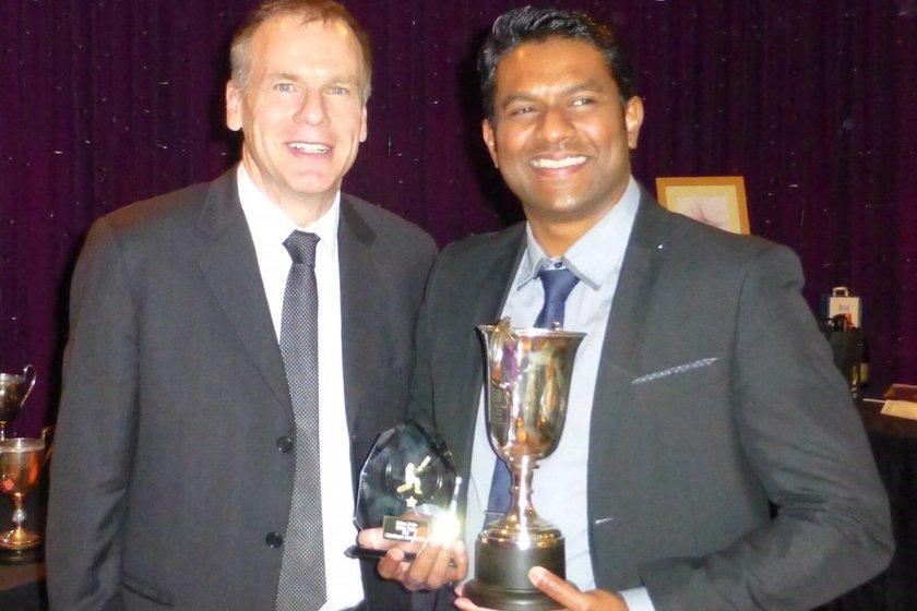 Indika Yahathugoda wins Grade 1 Batting Prize