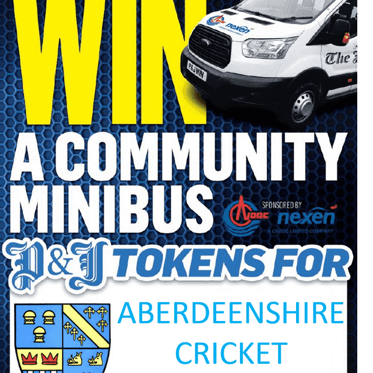 Press and Journal win a Minibus Competition