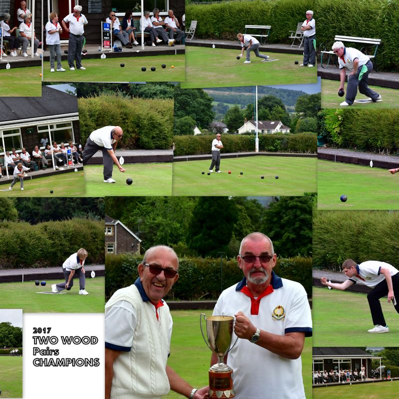 CLUB TWO WOOD PAIRS CUP