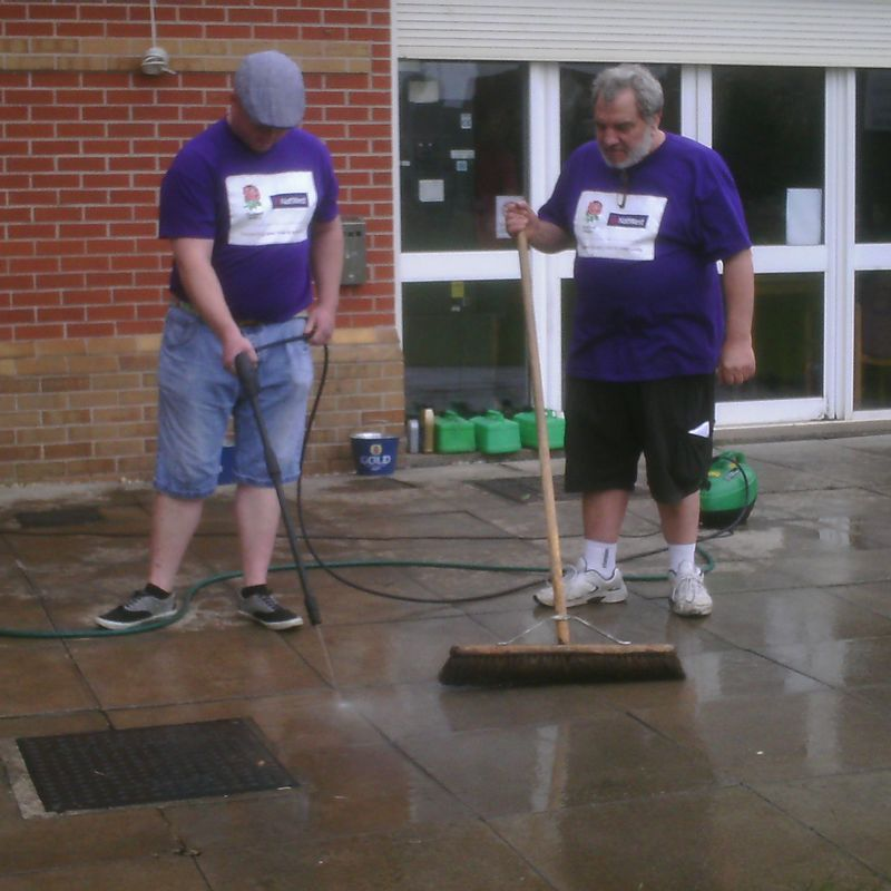Nat West Rugby Force  Club Clean up Weekend 24th-25th June 2017
