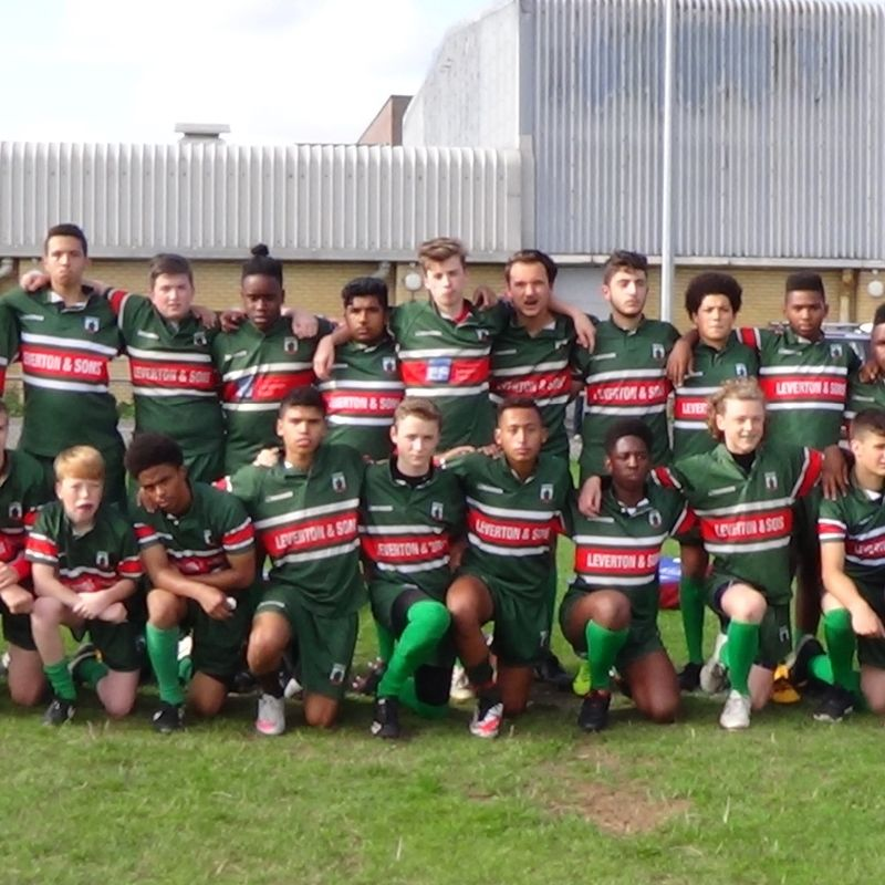 Under 16s lose to London Welsh 12 - 17