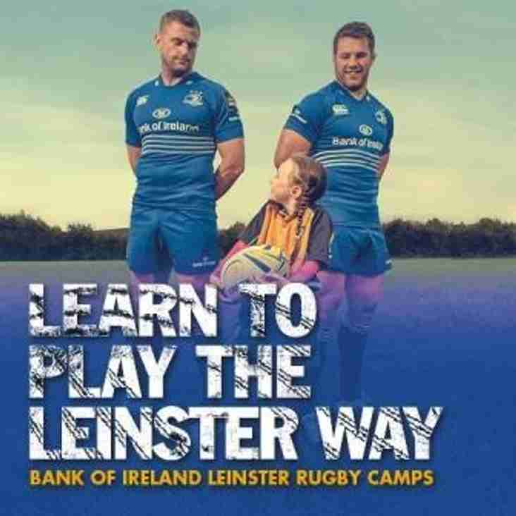 Leinster Rugby Summer Camp 2016