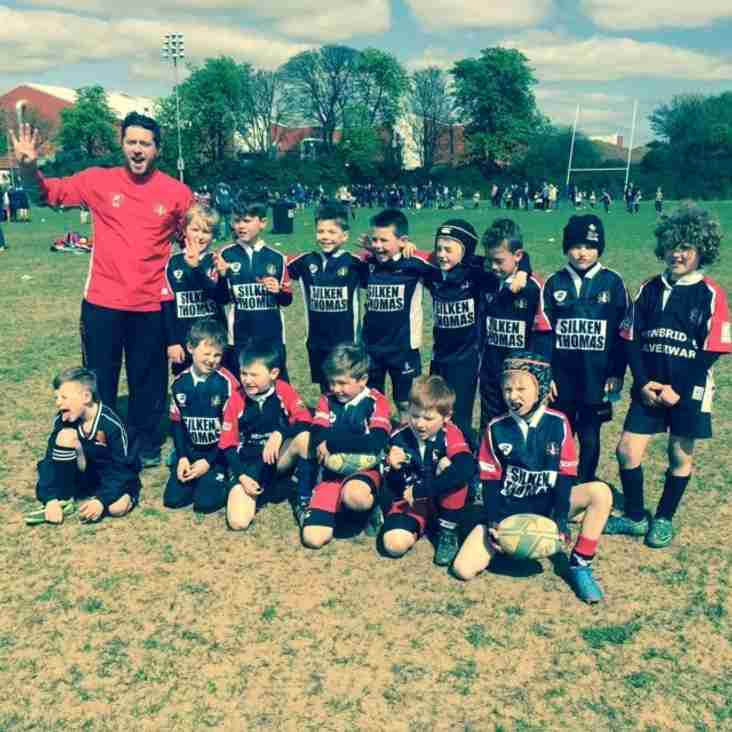 Under 8's excel at Old Belvedere Festival