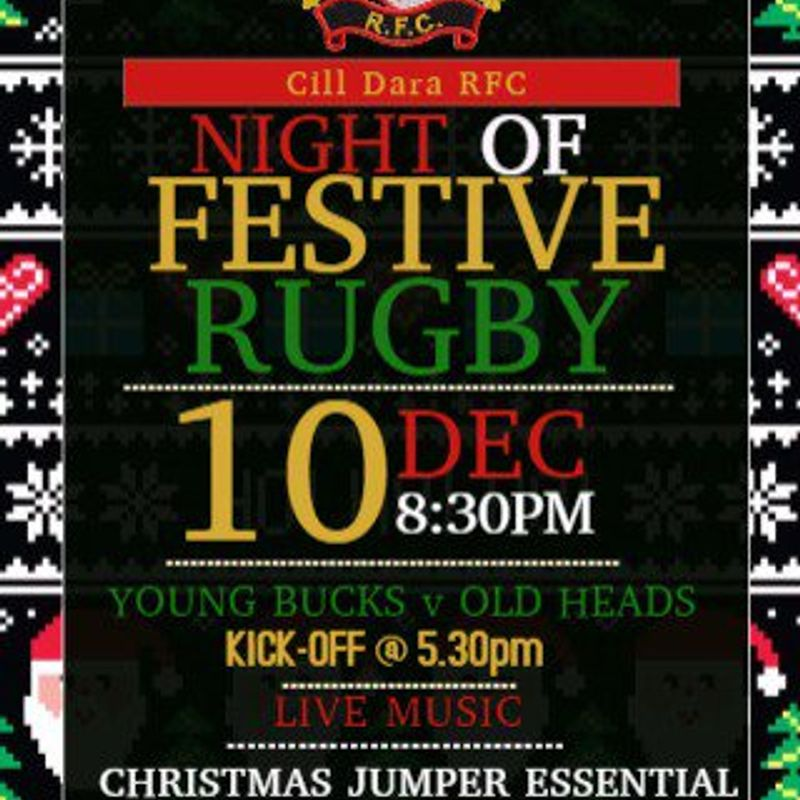 Cill Dara RFC Christmas Party