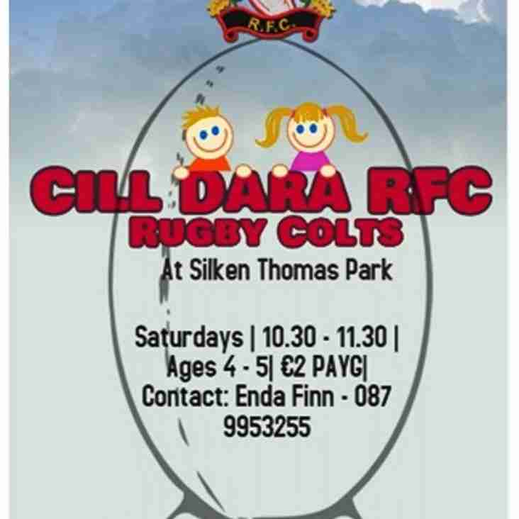 Launching Cill Dara RFC Rugby Colts!
