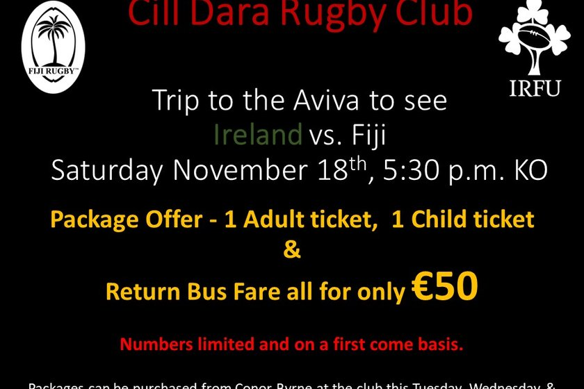 Cill Dara Trip to Autumn International